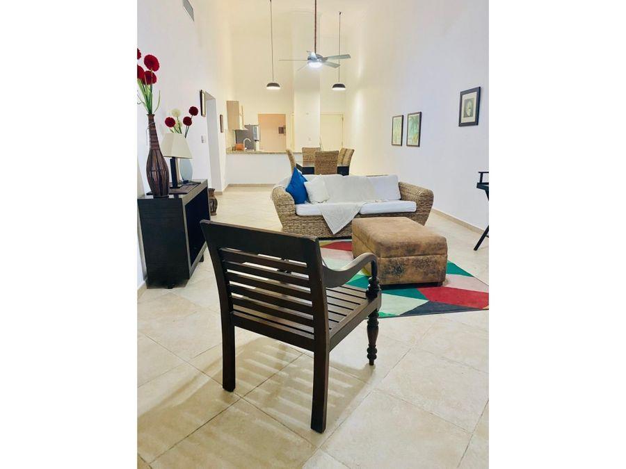 apartamento de 2 habitaciones amueblado en cocotal bavaro punta cana