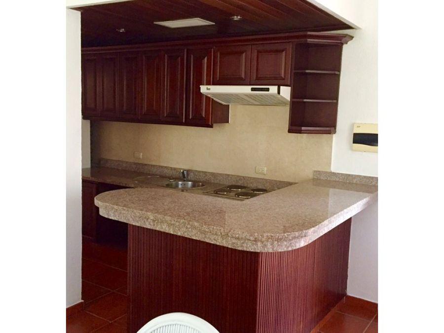 amplio apartamento amueblado en cocotal