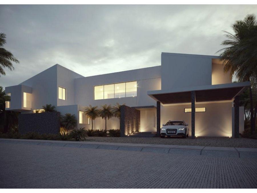 moderna villa en punta cana village
