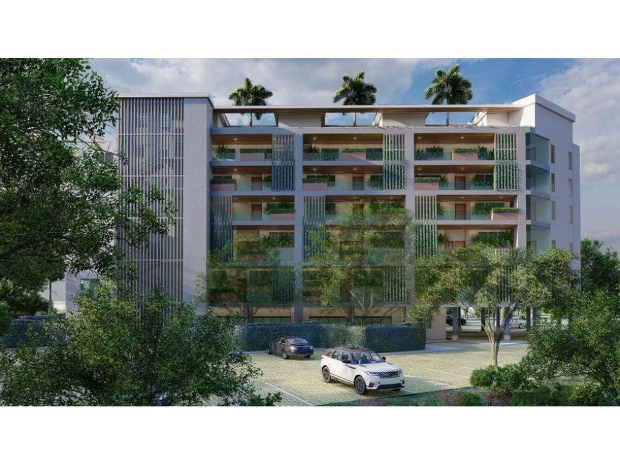 proyecto de apartamentos con vista al mar en cap cana punta cana