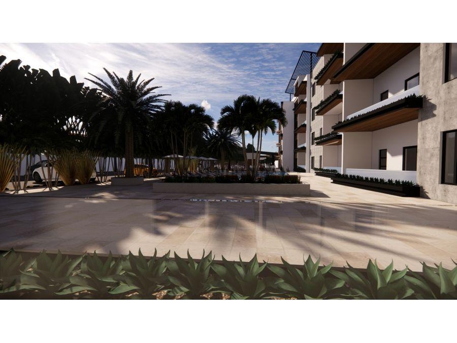 proyecto con elegantes y amplios apartamentos en cap cana