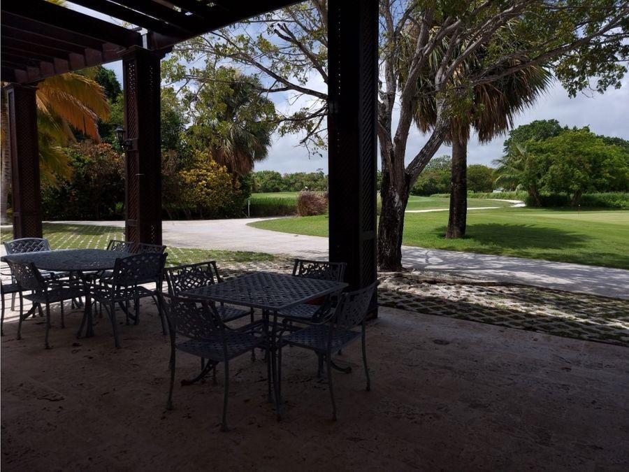 magnifico apartamento frente al campo de golf en punta blanca