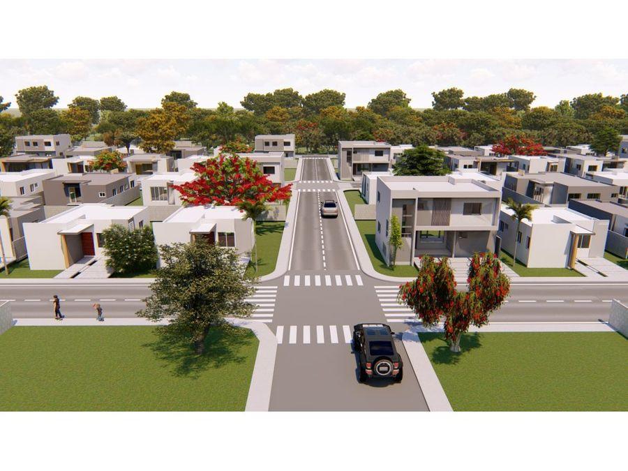 lindas y economicas casas en punta cana