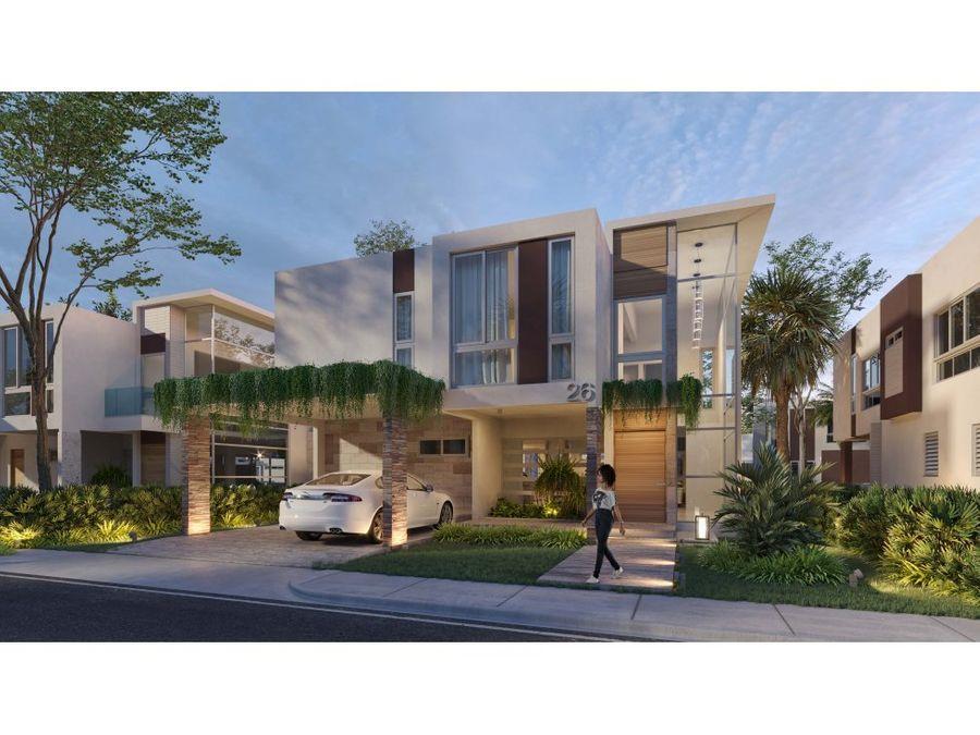 proyecto de villas en ciudad las canas cap cana