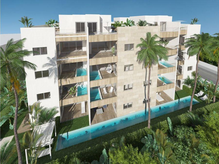 apartamento amueblado a estrenar a pasos de la playa
