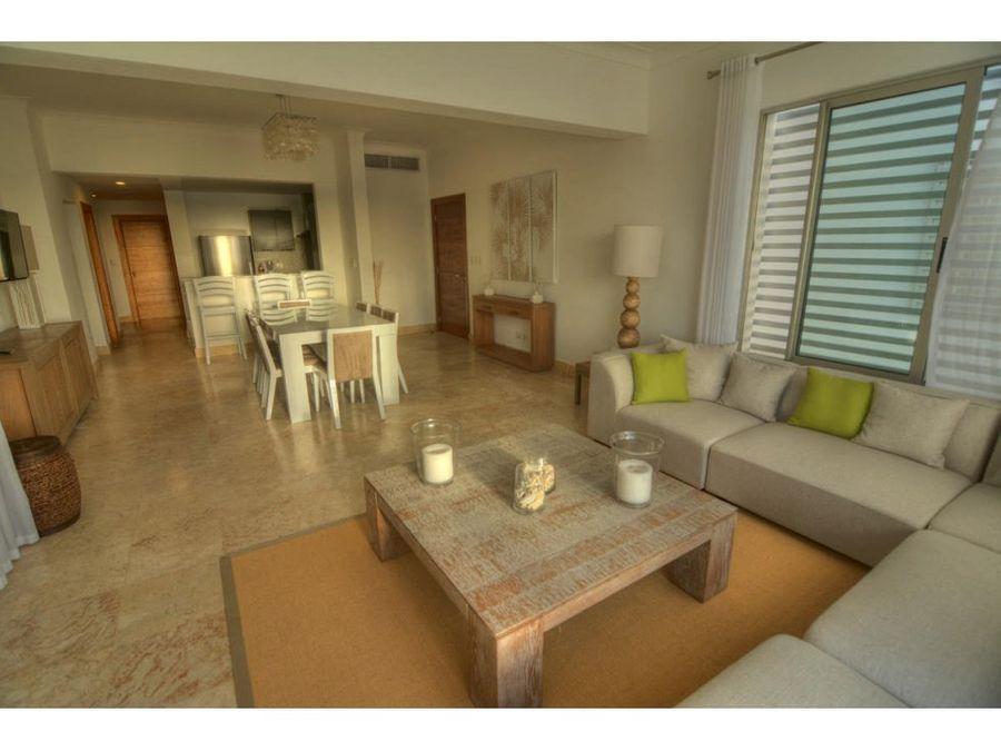 hermoso apartamento en hacienda punta cana