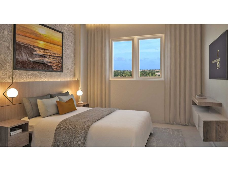 apartamentos inteligentes con playa y golf
