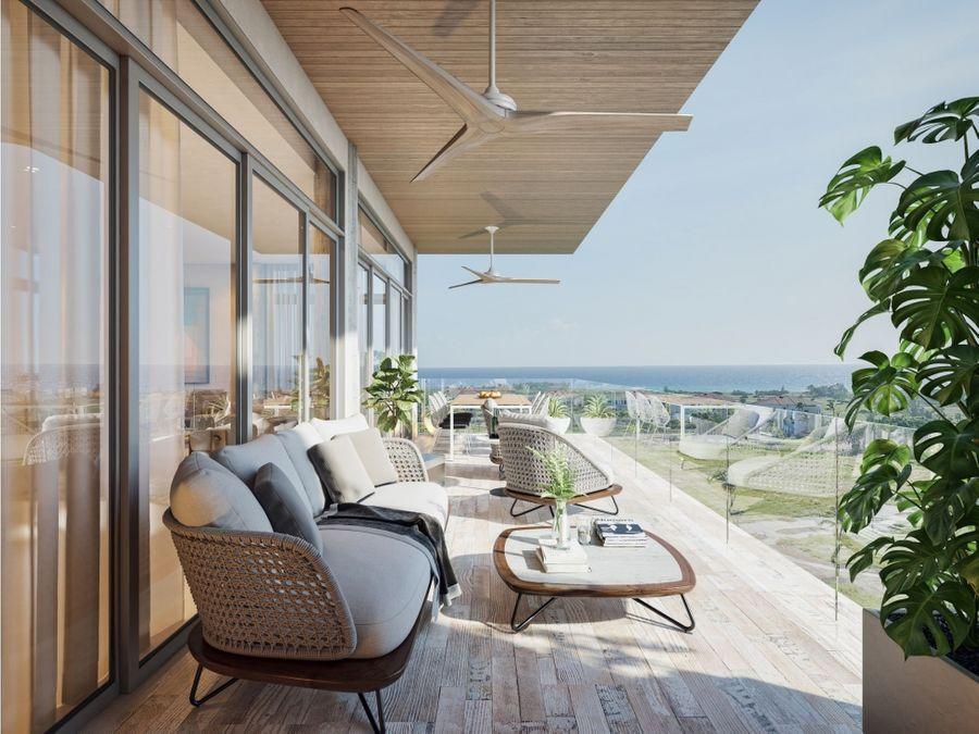 hermosos apartamentos junto al campo de golf en cap cana punta cana