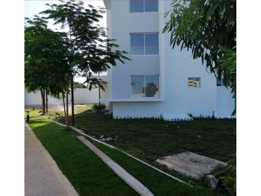 complejo de apartamentos con piscina en bavaro punta cana