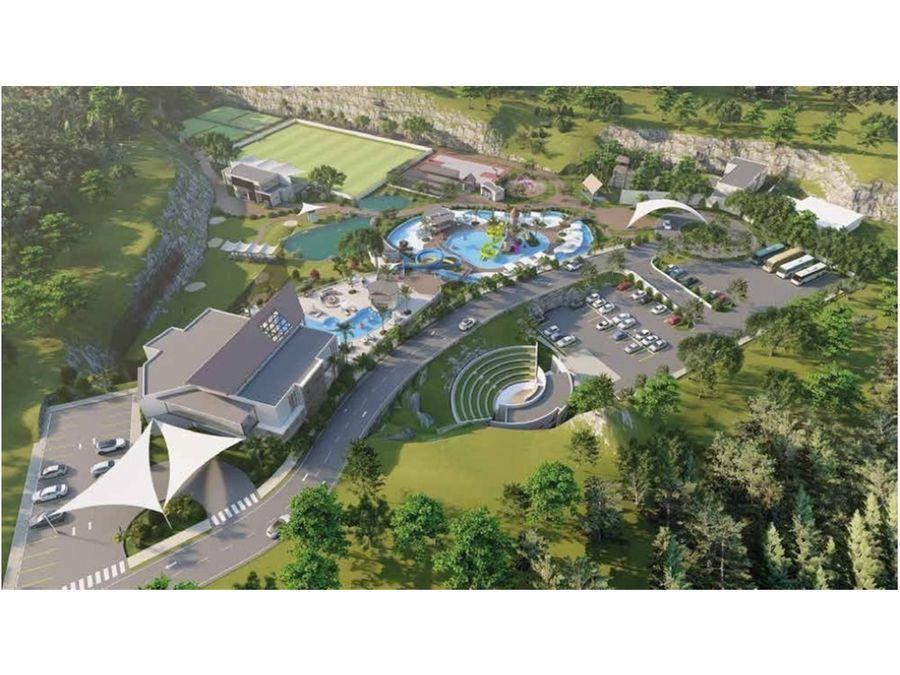 innovador proyecto con parque tematico en punta cana