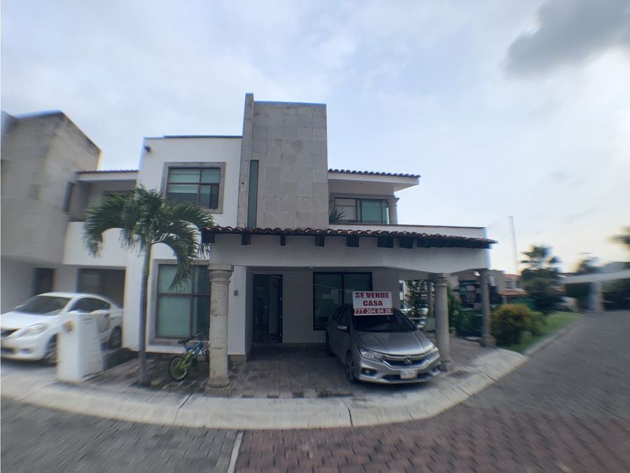 casa en venta en jiutepec con seguridad y amenidades