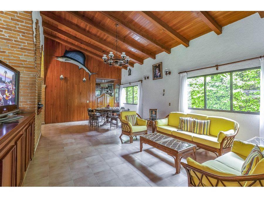 casa en venta en sumiya cuernavaca