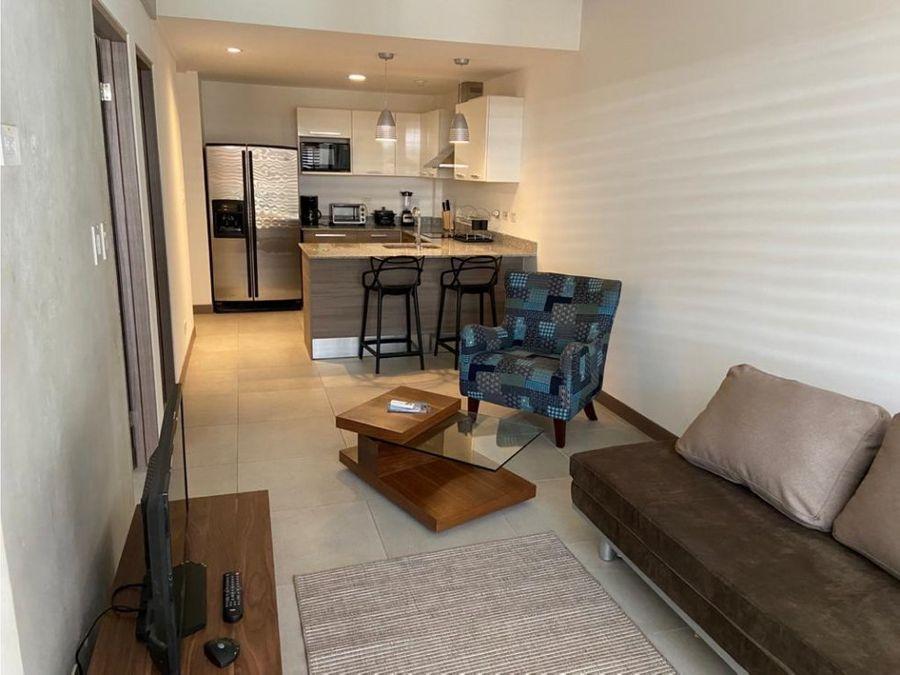 apartamento amueblado moderno barrio escalante