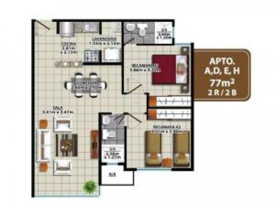 apartamento en alquiler condado del rey pp20 5340