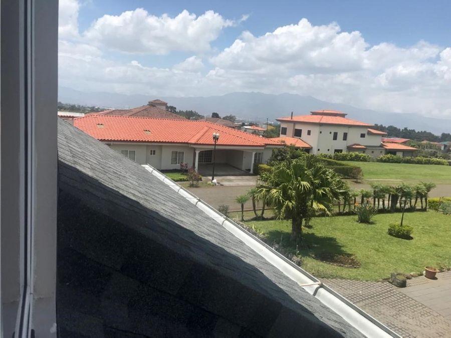 casa en condominio en san isidro de heredia