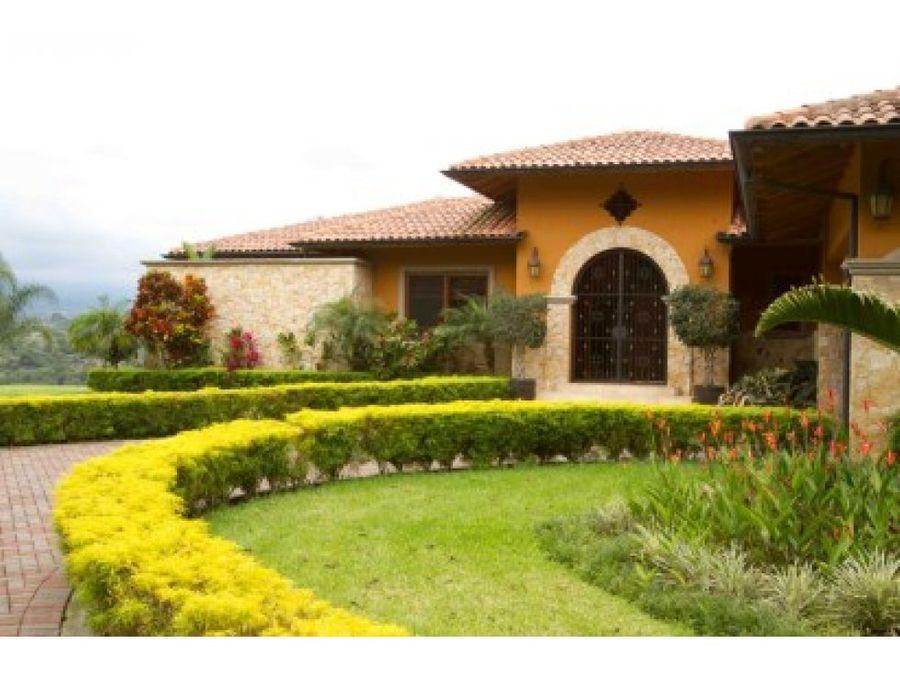 stunning sustainable estate in naranjo