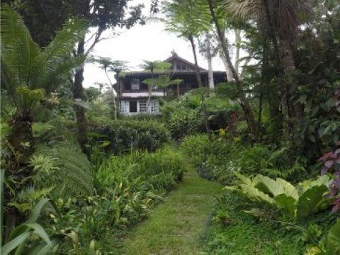 botanical organic farm with amazing home