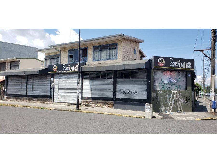 excellent commercial corner property in san jose aranjuez