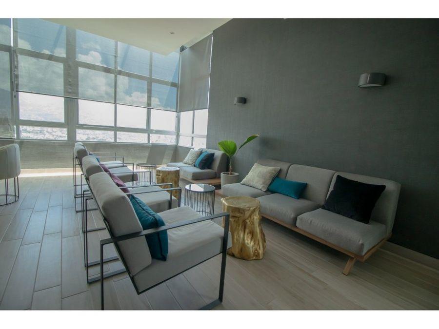 apartamento amoblado en alquiler en nunciatura excelente vista