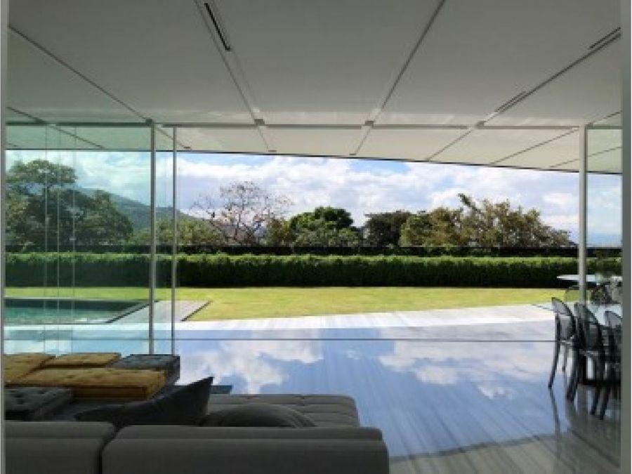 casa contemporanea 485 m2 en santa ana