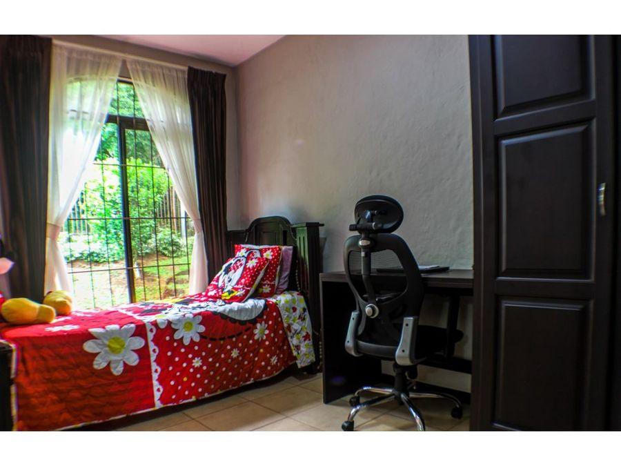 casa en venta con vista amueblada grecia costa rica