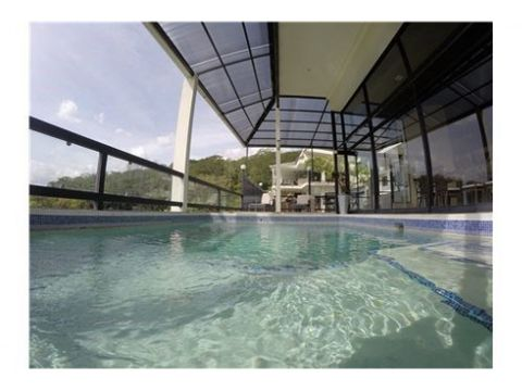 luxury mansion impressive views rental income