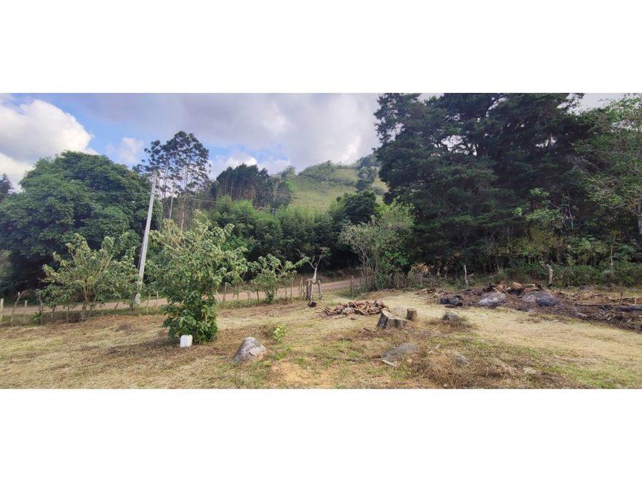beautifull land in san antonio de escazu great views