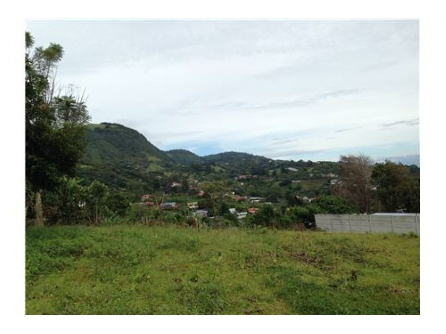 oversized lot with panoramic valley views