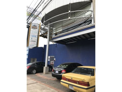 warehouse with offices and showroom in pozos de santa ana