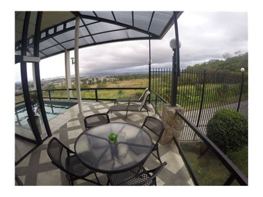 luxury mansion impressive views rental income