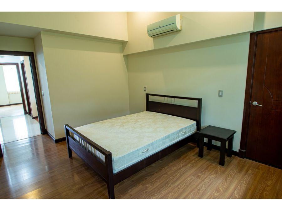 renta de apartamento amoblado escazu guachipelin