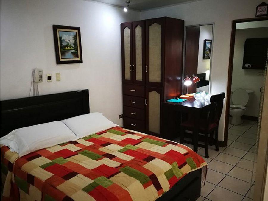 se vende hotel con beneficios crecientes heredia