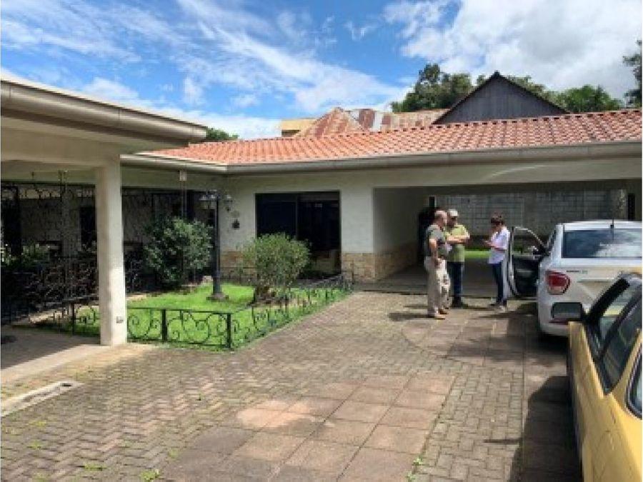 villa guadalupe en san antonio de escazu