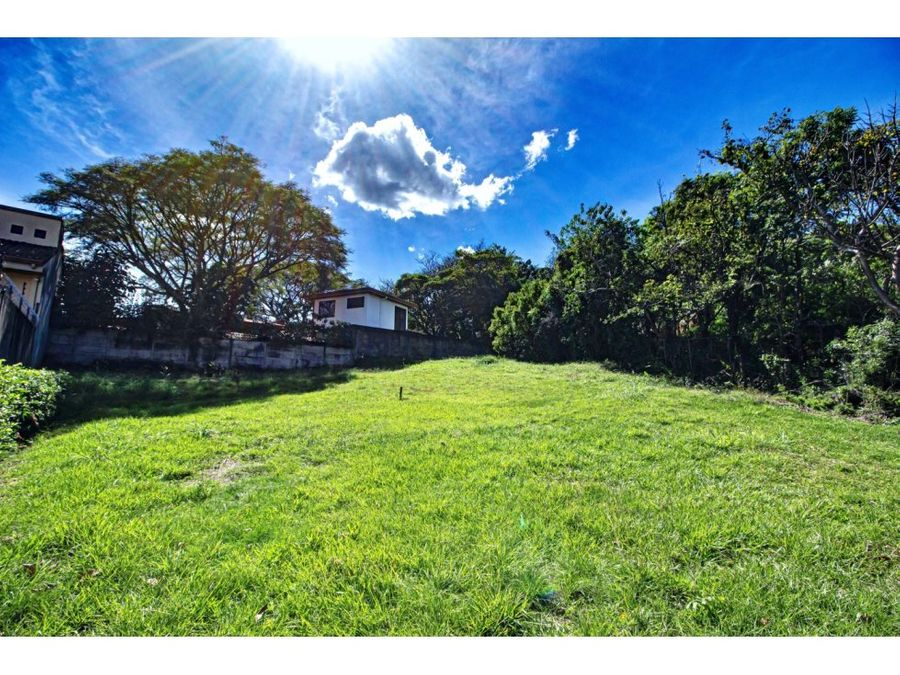 piedades dream home lot for sale in santa ana costa rica