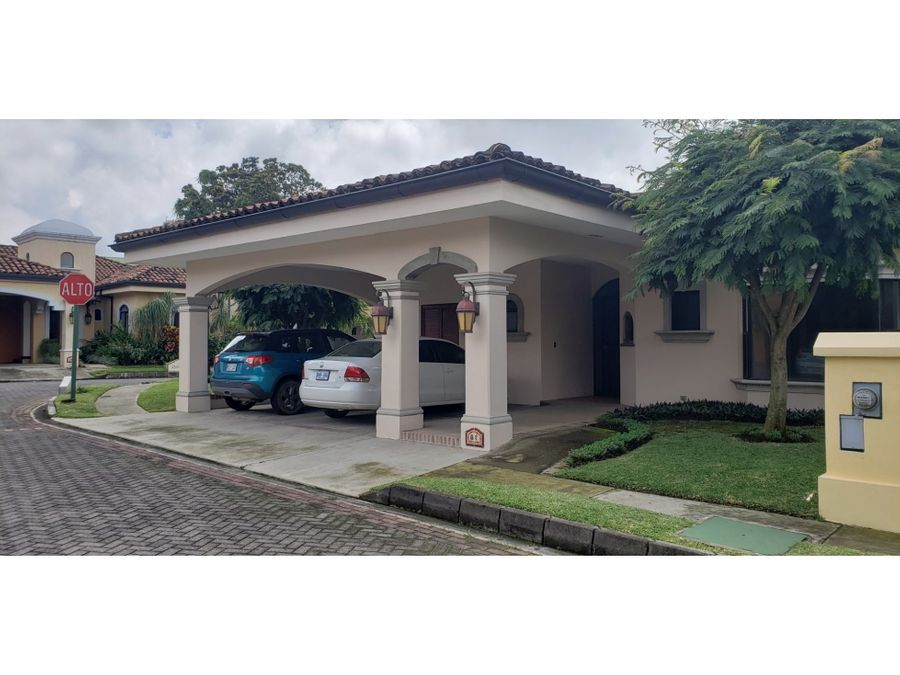 nice house in hacienda belen condominium