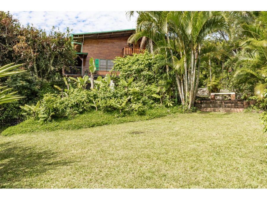 villa escazu gardens furnished