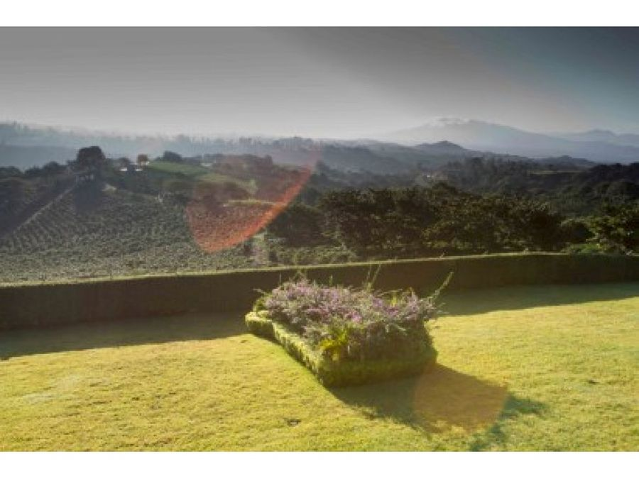 colonial style house for sale located in naranjo 2 hectares