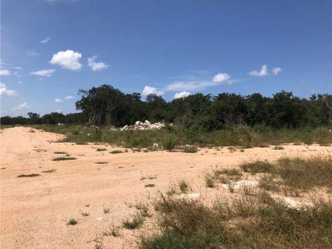 terreno en venta de 2 hectareas en komchen merida