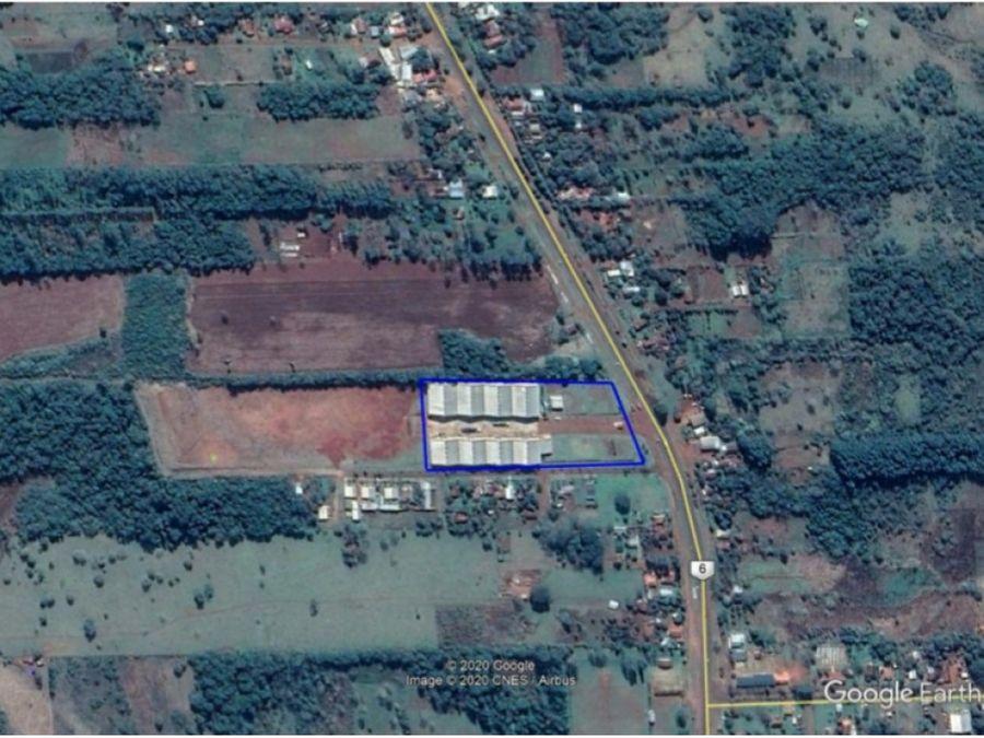 vendo terrenos en complejo logistico de encarnacion