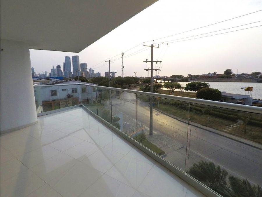 apartamento en manga edificio vista