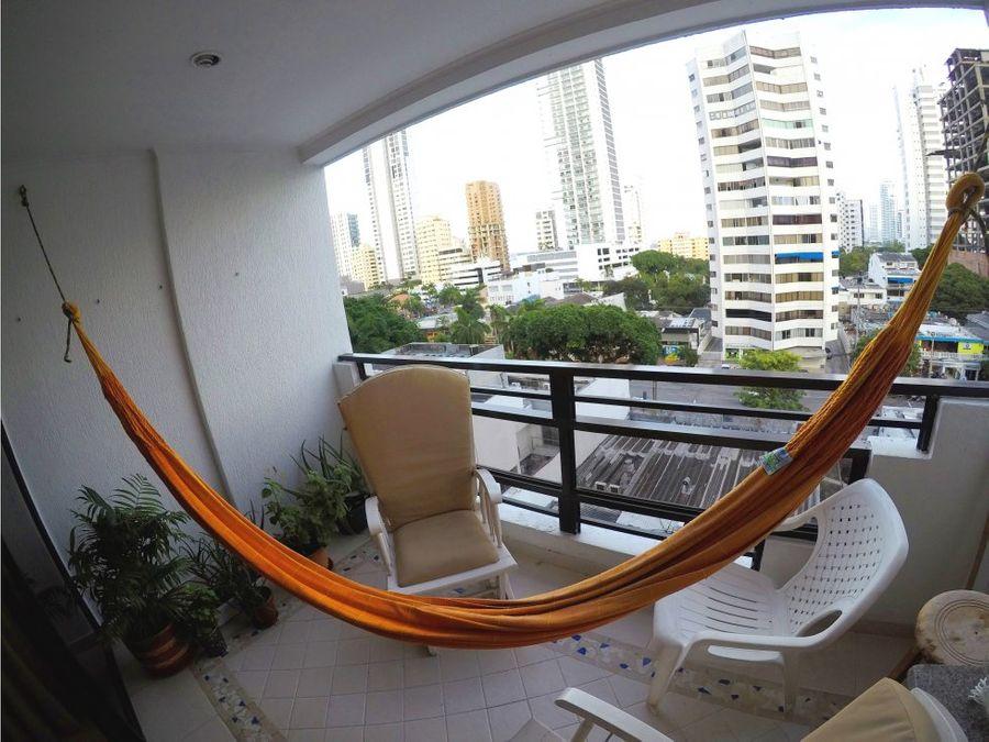apartamento en bocagrande edificio torre caribe i