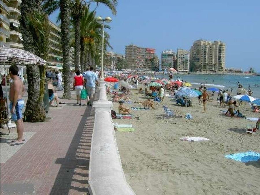 1o linea playa del cura first line beach cura