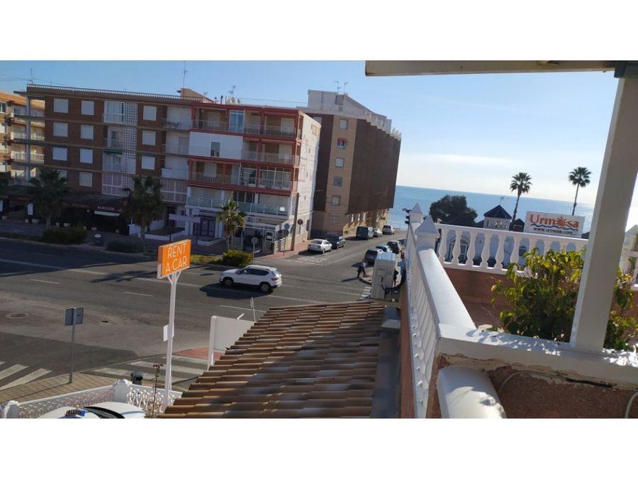 apartamento con solarium vistas mar