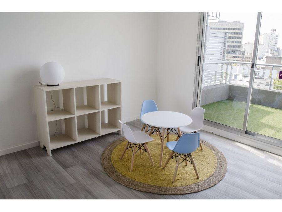 penthouse dos dormitoriosterraza con parrillero