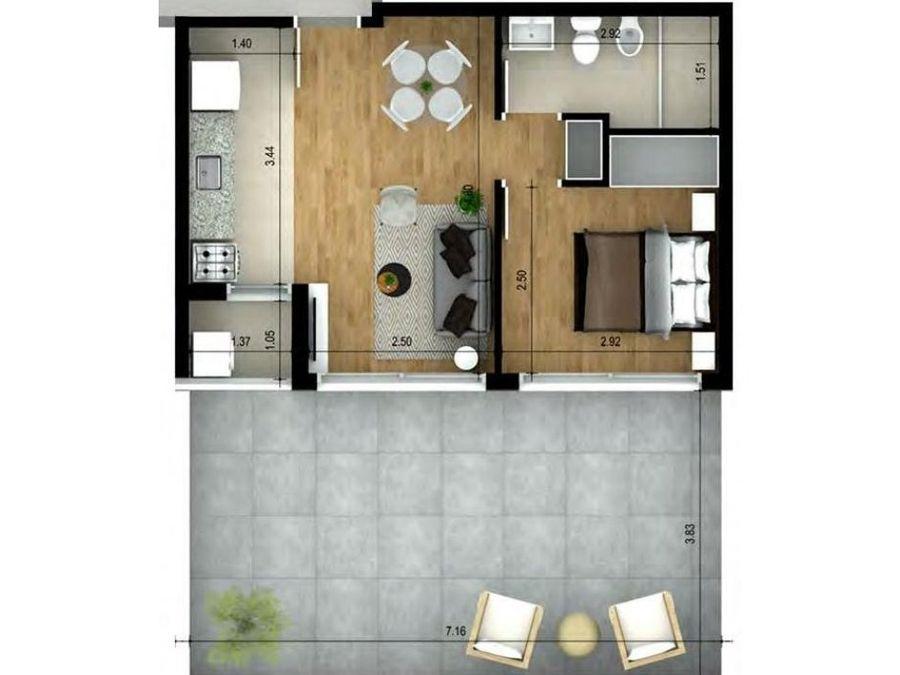 cordon estrena un dormitorio al frente con terraza
