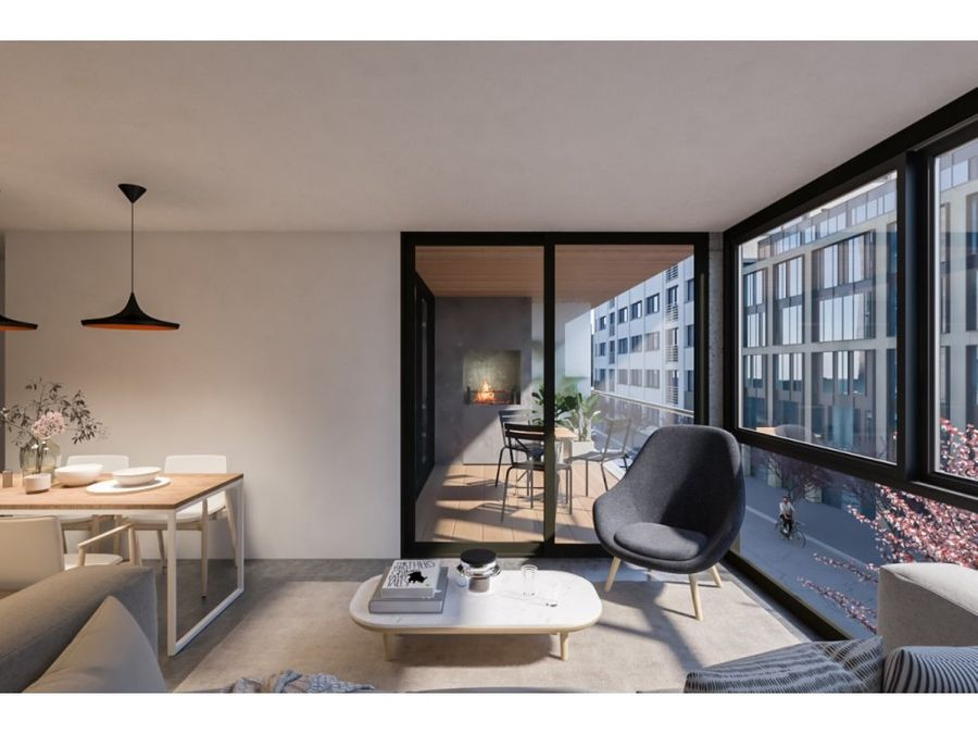 tres cruces un dormitorio terraza con parrillero cochera