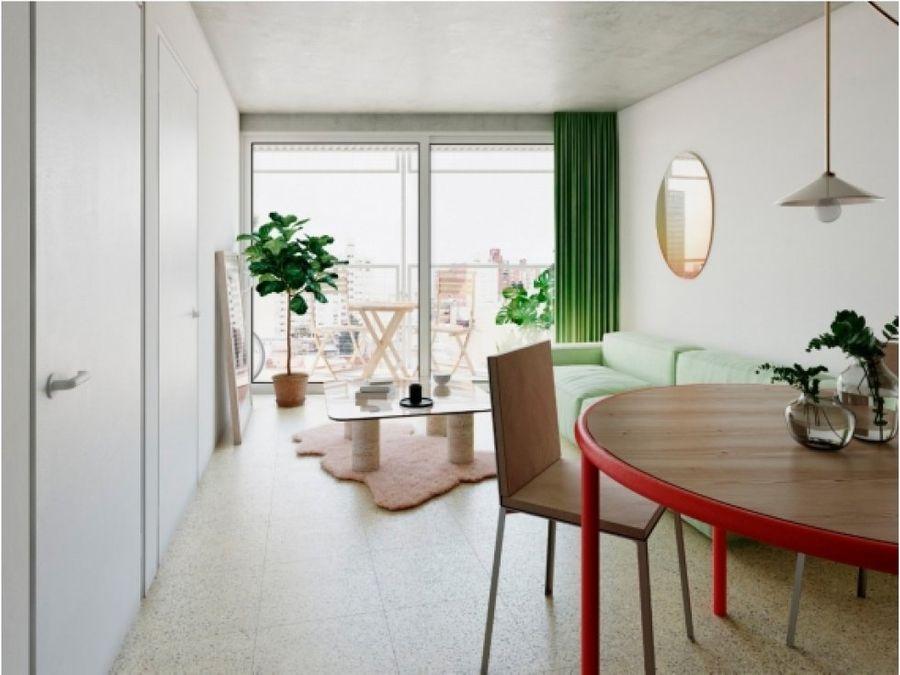 palermo dos dormitorios con terraza