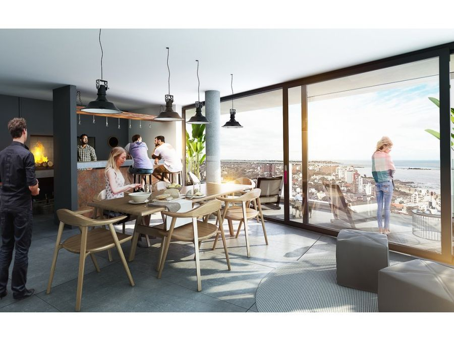 buceoun dormitorio terraza al frente