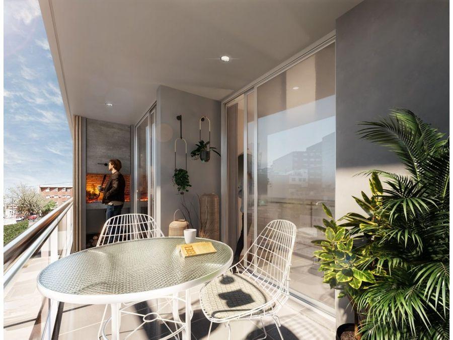 aguada un dormitorio con terraza y parrillero