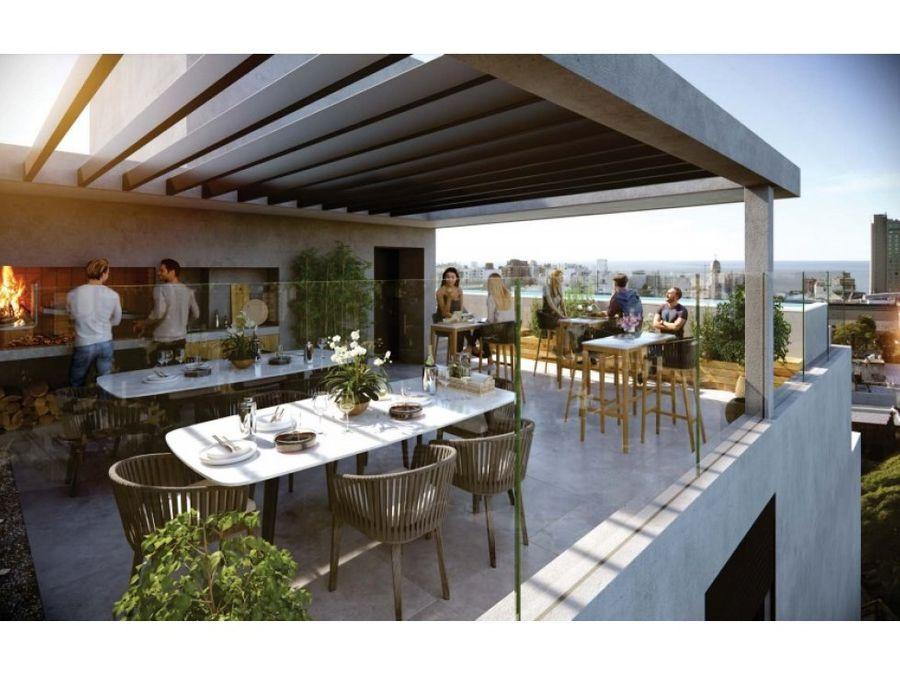 punta carretas apartamento de 1 dormitorio al frente con terraza
